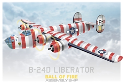 B-24  Ball of Fire
