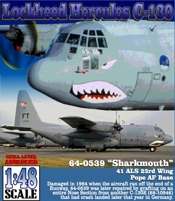 C130E SHARKMOUTH