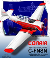 Harvard MkIV Conair paper model