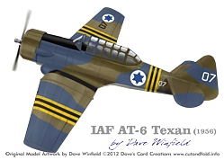 IAF Texan Artwork