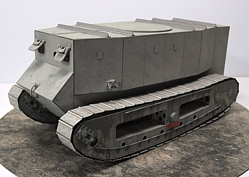 Little Willie 1/18 scale Tank Model