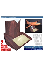 Mohogany Aircraft Stand - 2 sizes