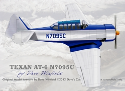 N7095C TEXAN artwork