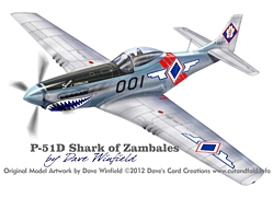 P51D Zambales Model Artwork