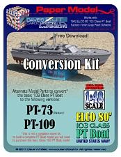PT Boat Gray Conversion Kit