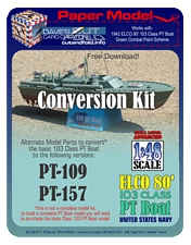 PT Boat Green Conversion Kit