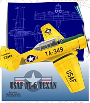 Texan USAF Yellow cover thumb