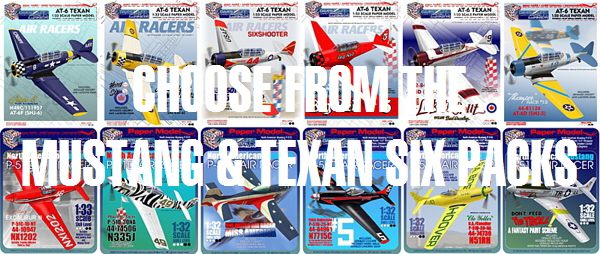 Exclusive Air Racer Paper Model Collection