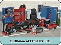 Diorama Accessory Kits Paper Scale Models