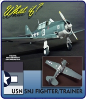 SNJ TRI COLOR FIGHTER TRAINER